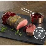 Waitrose 1 Venison Loin with Plum & Honey