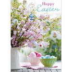 Blossom And Easter Egg Card