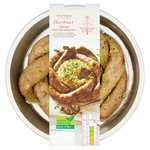 Waitrose Vegan Sausage Wreath