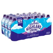 Highland Spring Still Water Sports Cap Multipack