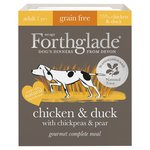 Forthglade Gourmet Chicken & Duck with Chickpeas & Pear Wet Dog Food