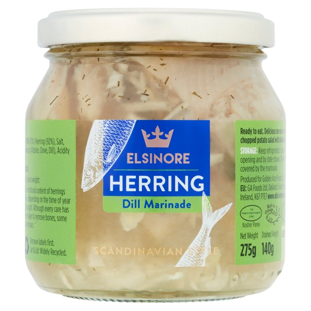 Elsinore Herrings in Dill