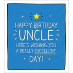 Uncle Birthday Card