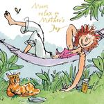 Quentin Blake Hammock Mother's Day Card