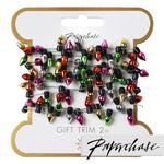Paperchase Mini String of Lights Gift Trim