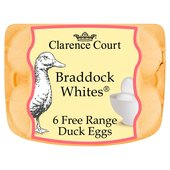 Clarence Court Free Range Duck Eggs