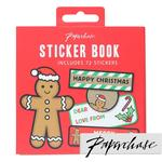 Paperchase Gingerbread Man Sticker Book
