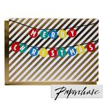 Paperchase Merry Christmas Bauble Card