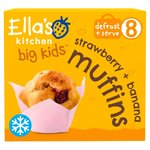 Ella's Kitchen Big Kids Strawberry + Banana Muffins