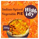 Higgidy Indian-spiced vegetable pie