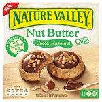 Nature Valley Nut Butter Cups Cocoa Hazelnut Biscuits