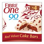 Fibre One 90 Calorie Red Velvet Cake Bars