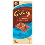 Galaxy Vegan Caramel & Sea Salt Chocolate