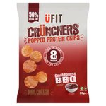 UFIT Crunchers High Protein Popped Chips, Smokehouse BBQ