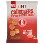 UFIT Crunchers High Protein Popped Chips, Thai Sweet Chilli