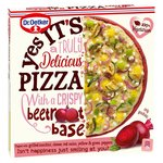 Dr. Oetker Yes Its Pizza Vegetable Pizza