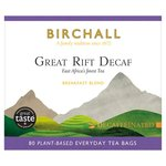 Birchall Great Rift Decaf Everyday Tea Bags