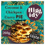 Higgidy Paneer, Coconut & Spiced Chickpea Pie