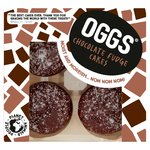 Oggs Vegan Chocolate Fudge Cakes