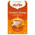 Yogi Tea Organic Turmeric Orange