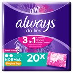 Always Dailies Wrapped Scented Liners