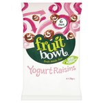 Fruit Bowl Fruit Flakes Yoghurt Raisins