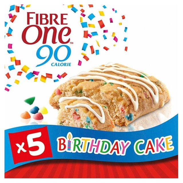 Outstanding Fibre One 90 Calorie Birthday Cake Bars Ocado Funny Birthday Cards Online Aboleapandamsfinfo