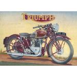 Triumph Catalogue 1939 Birthday Card