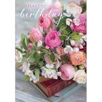 Bouquet Birthday Card