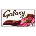 Galaxy Cookie Crumble Large Block