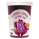 Tideford Organics Carrot, Cumin + Beetroot Soup