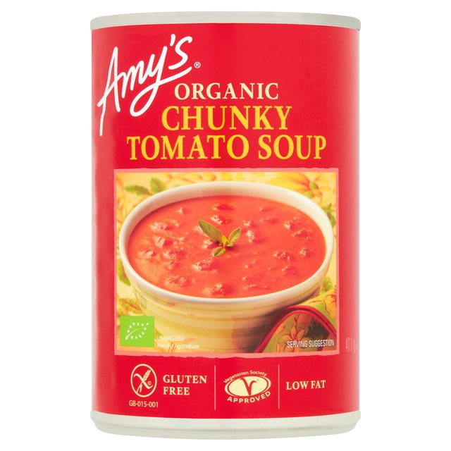 Amy's Kitchen Low Fat Chunky Tomato Soup 400g from Ocado