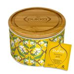PUKKA Turmeric Gold Ceramic Caddy