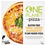 One Planet Pizza Gluten Free Vegan Three Cheezly Margherita Pizza