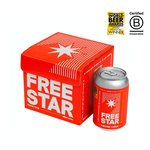 Freestar 0.0% Alcohol Free Beer Can