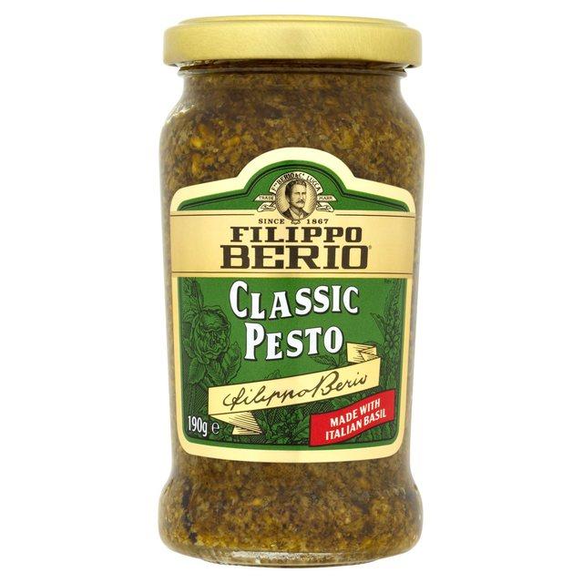 Filippo Berio Classic Pesto 190g from Ocado