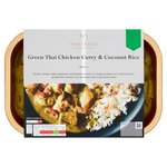 Waitrose 1 Green Thai Green Chicken Curry & Coconut Rice