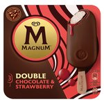 Magnum Double Chocolate & Strawberry 3 pack