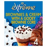Nestle Extreme Brownies and Cream