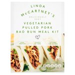 Linda McCartney's Vegetarian Pulled Pork Bao Bun Meal Kit