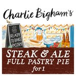 Charlie Bigham's Steak & Ale Full Pastry Pie