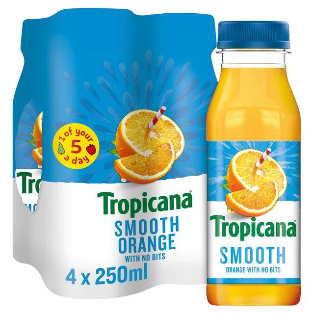Tropicana Orange Juice Smooth | Ocado