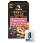 Quaker Perfect Blends Raspberry, Apple & Acai Multi Grain Porridge