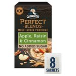 Quaker Perfect Blends Apple, Raisin & Cinnamon Multi Grain Porridge
