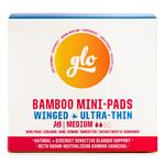 Glo Bamboo Incontinence Mini-Pads for Sensitive Bladder Mini