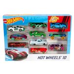 Hot Wheels 10 Pack Vehicle, 3 yrs+