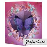 Paperchase 3D Butterfly Birthday Card