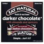 Eat Natural Dark 70% Chocolate Almonds & Apricots Bars Multipack