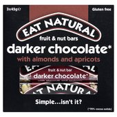 Eat Natural Bars Dark 70 % Chocolate Brazils & Apricots