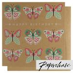 Paperchase Happy Birthday Butterfly Card